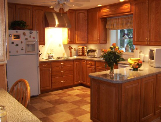 A whole new kitchen.