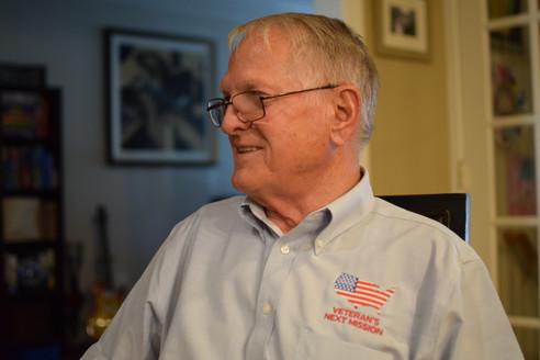 Bob Luckett wearing VNM attire