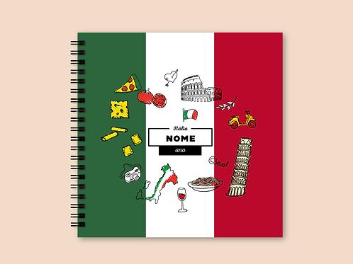 Álbum Scrapbook Itália