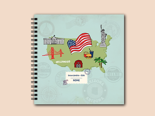 Álbum Scrapbook EUA