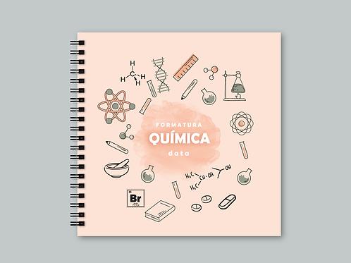 Álbum Scrapbook Química