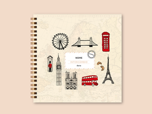 Álbum Scrapbook Londres