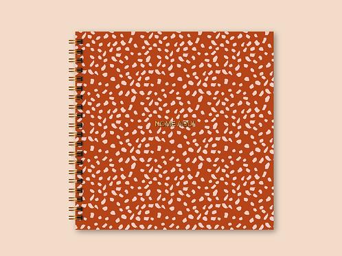 Álbum Scrapbook Poá Pinceladas