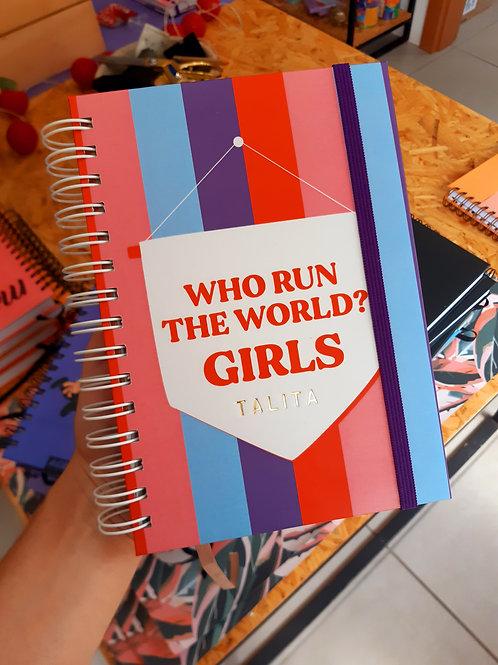 Caderno We Run the World