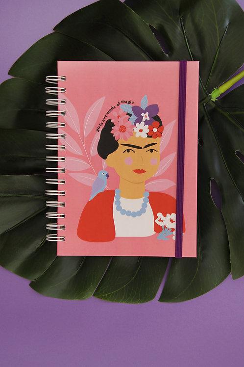 Caderno Grande Lady Boss