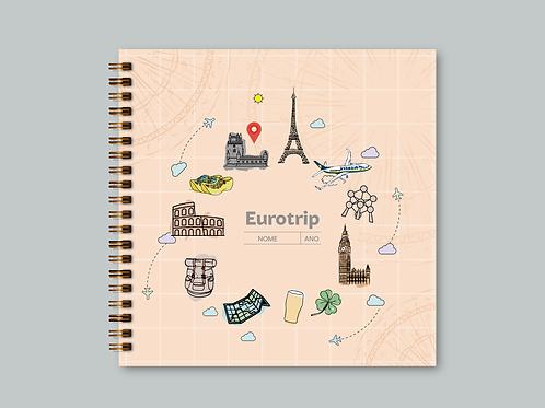 Álbum Scrapbook Eurotrip
