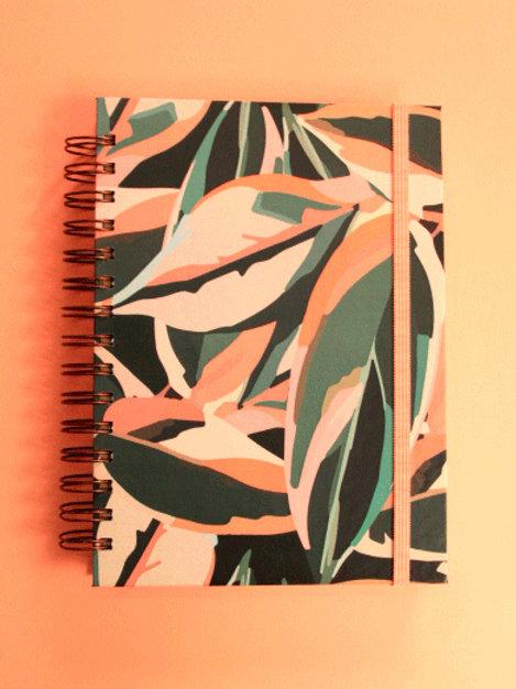 Caderno Maranta Meu Xodó