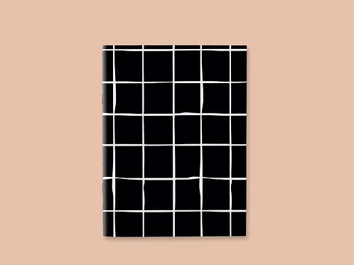 Caderno Costurado Grid