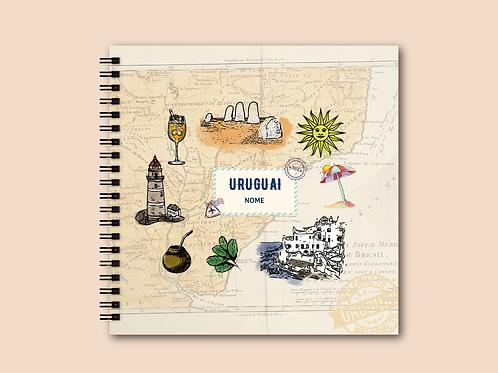 Álbum Scrapbook Uruguai