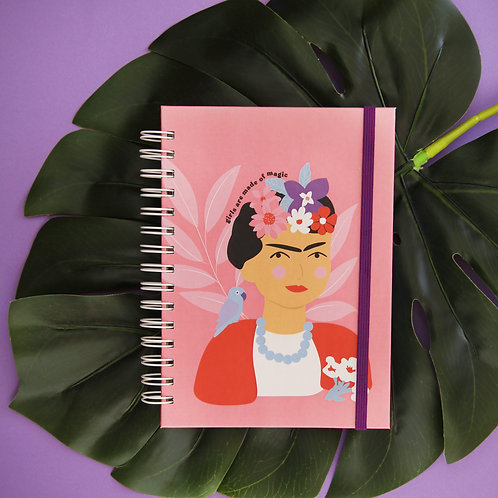 Caderno Médio Lady Boss