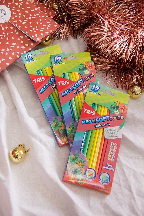 Lápis de Cor Tons Tropicais
