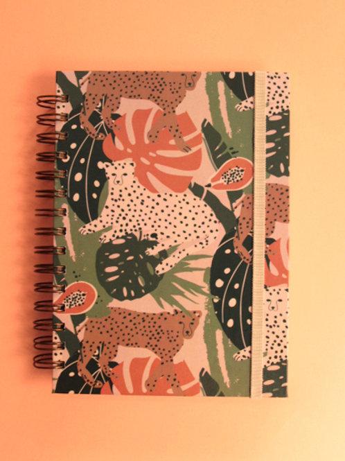 Caderno Médio Ousada na Floresta
