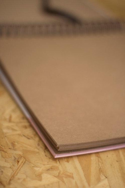 Álbum Scrapbook Grid Kraft