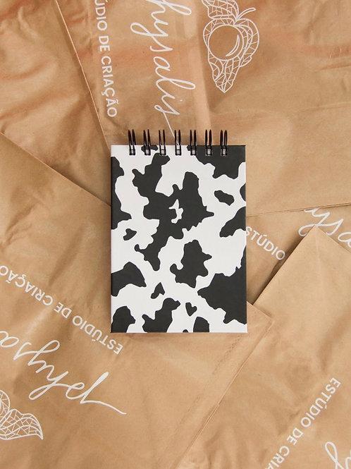 Bloquinho Cow Print