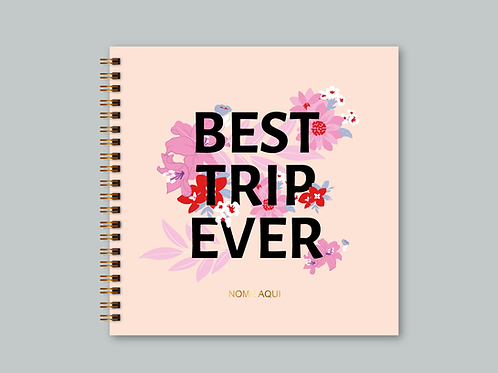 Álbum Scrapbook Best Trip Ever