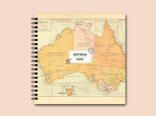 Álbum Scrapbook Austrália