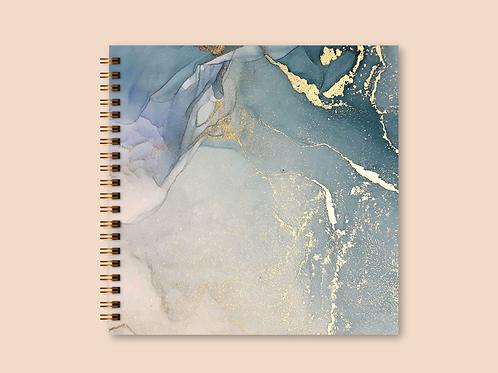 Álbum Scrapbook Mediterrâneo