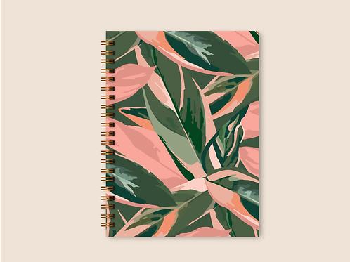 Caderno Grande Maranta Meu Xodó