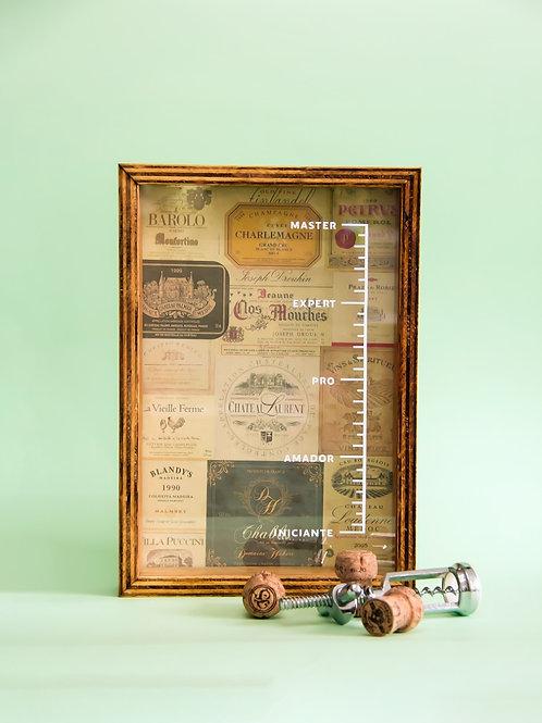 Caixa Porta Rolhas  | Vintage Labels