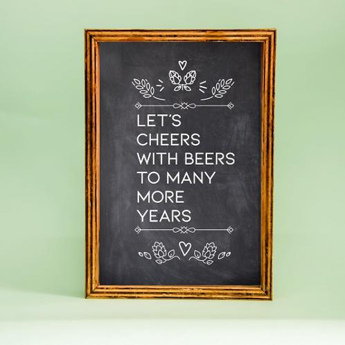 Caixa Porta Tampas  | Let's Cheers