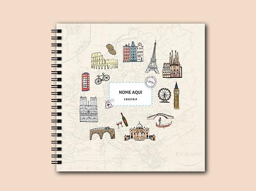 Álbum Scrapbook Europa