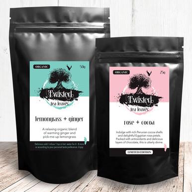 Twisted Tea Leaves packaging