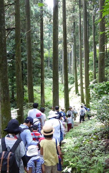 森の体験会