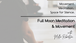 Full Moon Meditation and Sip and Stretch at Restorative Therapy Co.