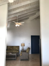 New vaulted ceilings