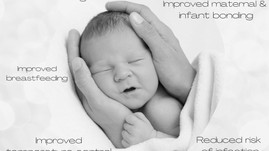 Benefits Of Delaying Your Baby's First Bath