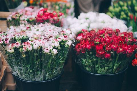 신선한 꽃