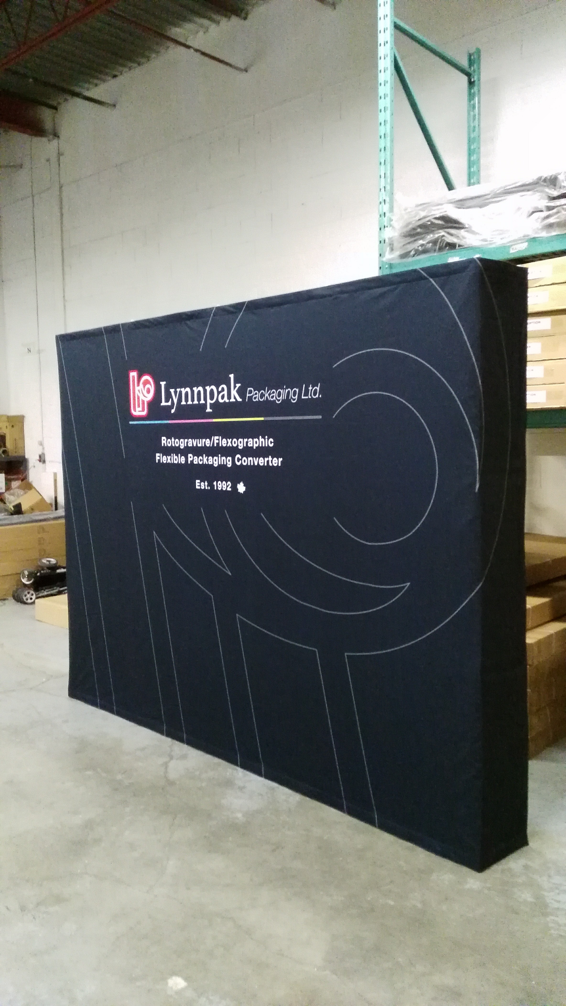 PopMax Fabric Pop Up Display