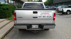 Truck Advertisement Magnet