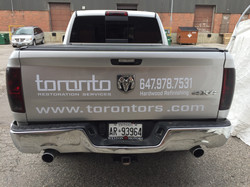 Custom Vehicle Lettering Services