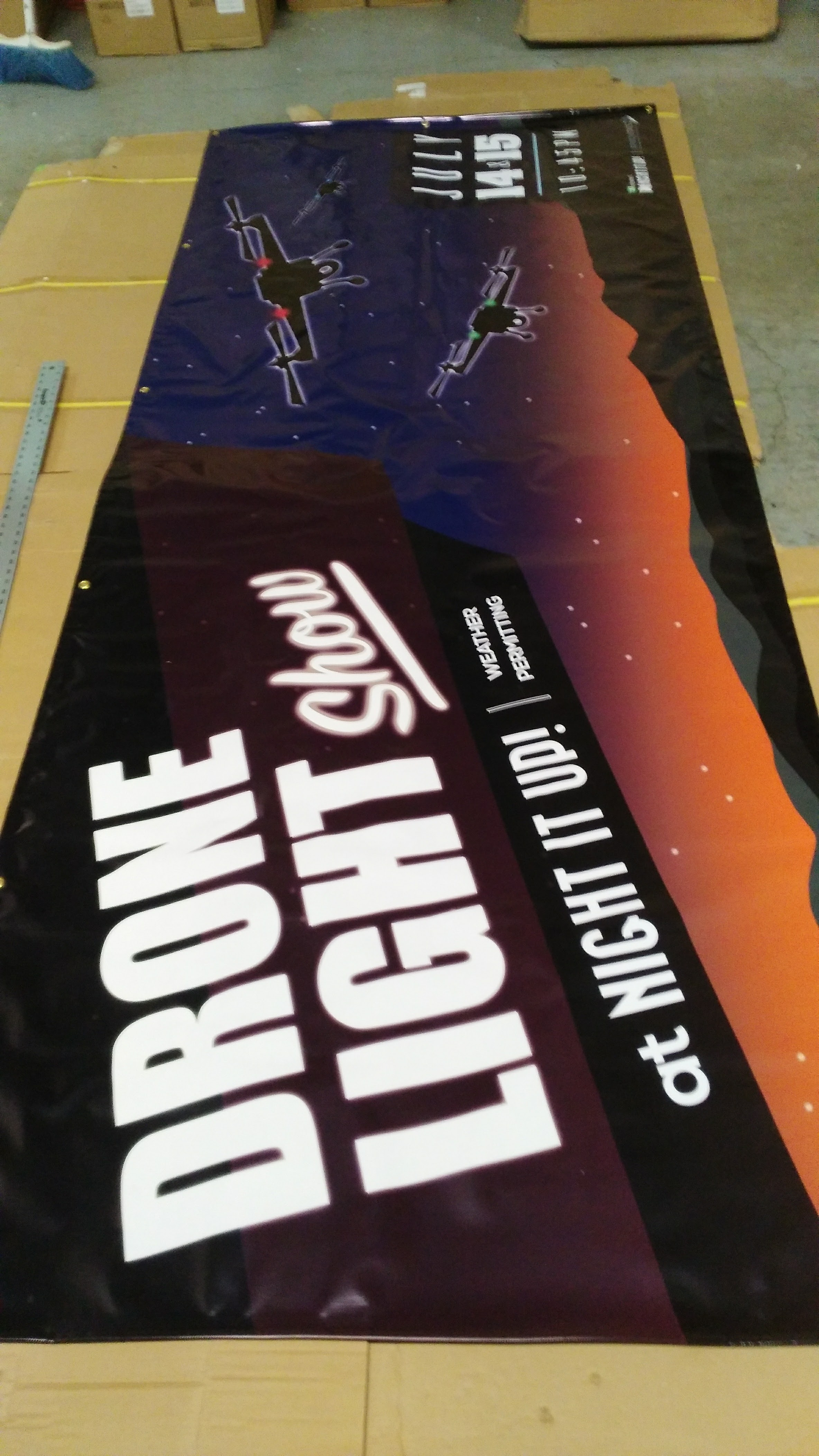 Outdoor Vinyl Banner Sign