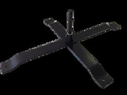 Metal Cross Base