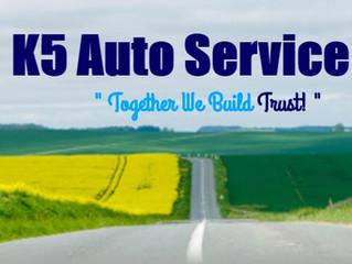 Testimonial: K5 Auto Service Inc.