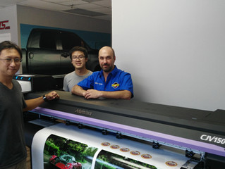 TYMICO purchases first large format printer