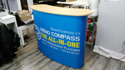 Curved Pop Up Counter