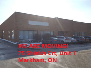 WE ARE MOVING ON MAY 1ST!
