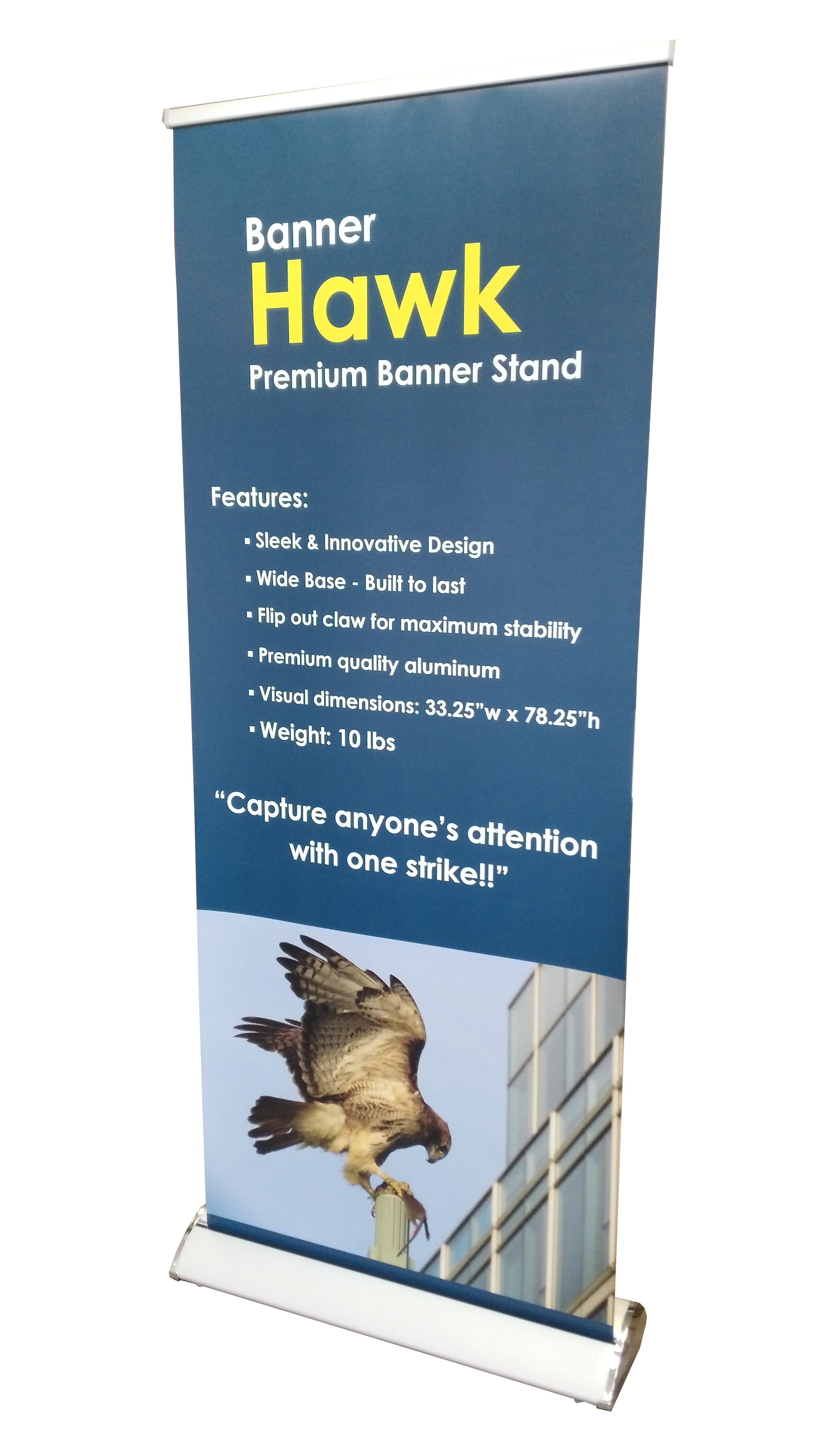 Banner Hawk - Front