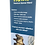 "Thumbnail: 32.25"" x 79"" Banner Hawk Premium Retractable Banner Stand"