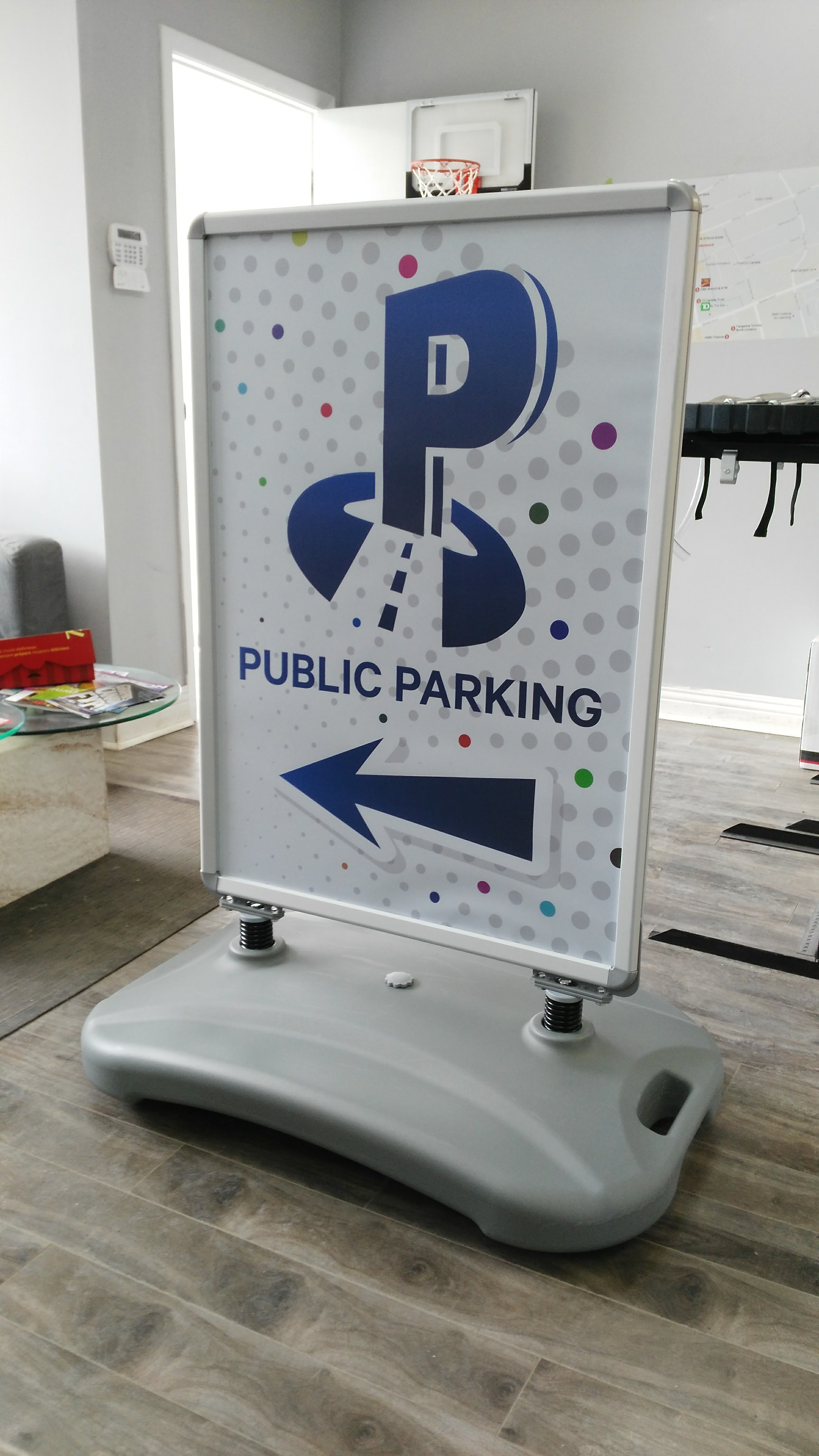 Outdoor Poster Signs with Water Base
