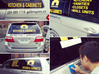 New! Custom Vehicle Lettering & Decals