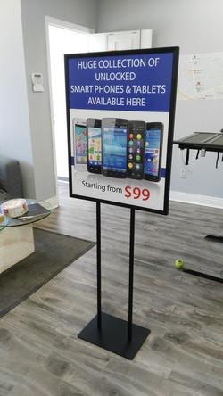 Retail Floor Sign