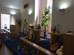 Easter service.
