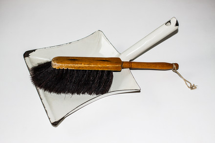 broom and shovel, 2014