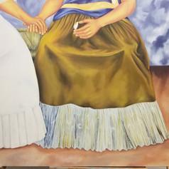 Two Fridas - Detail
