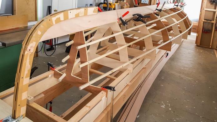 026 - Garboard strakes dry fitted.jpg