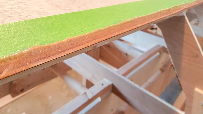 037 - Thickened epoxy on plank seam.jpg